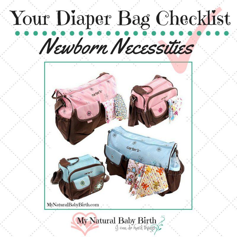 your diaper bag checklist newborn necessities