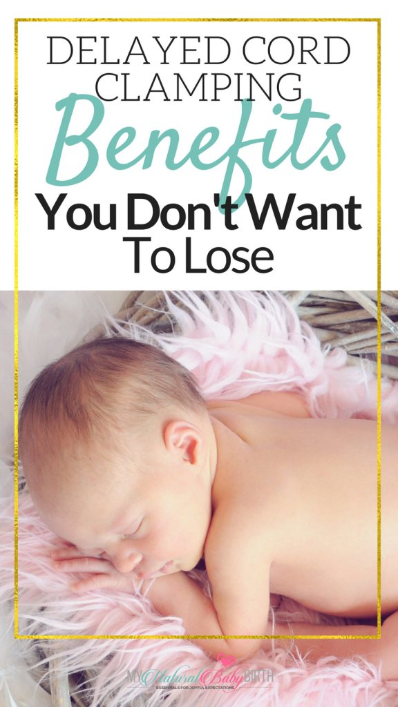 Delayed Cord Clamping Benefits You Don't Want To Lose   Whether you've having a natural birth or not, I think everything should read this because your baby needs all the help they can get after labor and delivery!