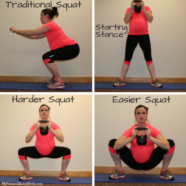 Exercises you can do while pregnant