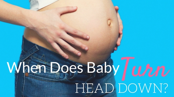 how to bring baby head down for delivery