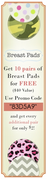 Reusable Breast Pads For Free