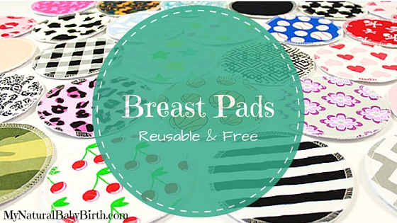 Free Reusable Breast Pads