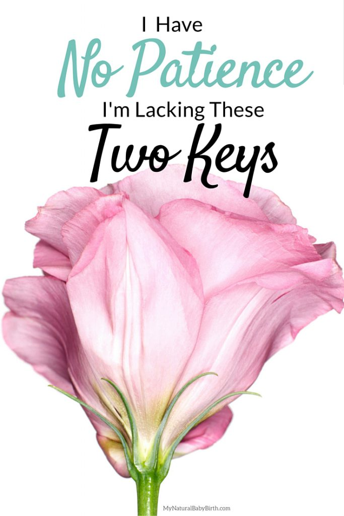 I Have No Patience - I'm Lacking These Two Keys (2)