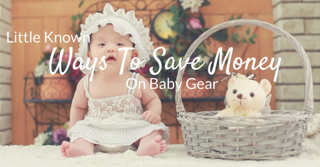 Ways To Save Money On Baby Gear