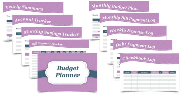 Redefining Mom Budgeting Printables