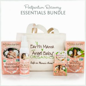 Earth Mama Angel Baby Postpartum Recovery Essentials Bundle