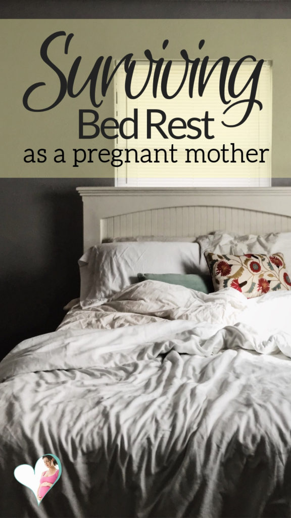 How To Survive Bed Rest As A Mom To Be