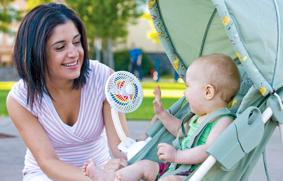 11 Ways to Keep Your Baby Cool This Summer